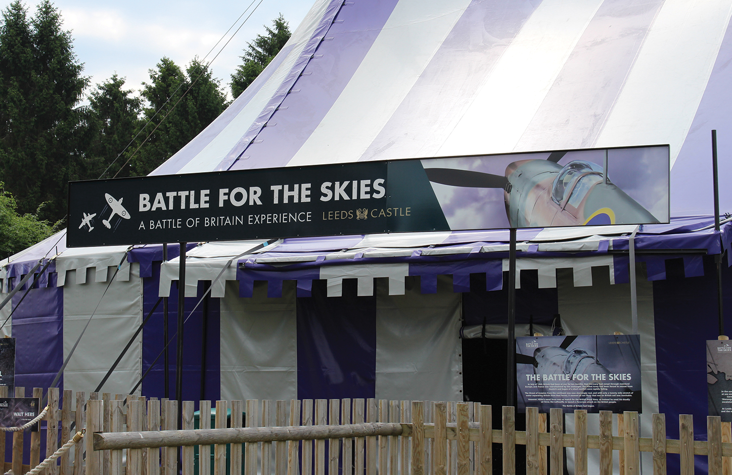 Battle for the Skies Tent